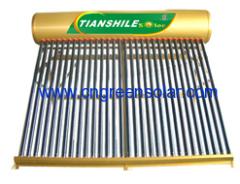 non-pressure series solar heater