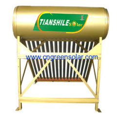 non-pressure series solar water heater