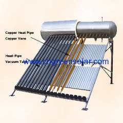 compact & pressure solar water heater