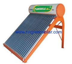 heat pipe pressure solar heater