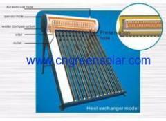 full stainless steel solar water heater