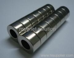 neodymium cylinder magnets holes