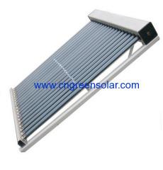 pressurized solar collector module