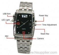 spy camera watch
