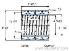 BT4B 331089 CG/HA1 bearing