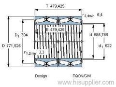 BT4B 331093 BG/HA1 bearing