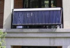 balcony solar water heaters