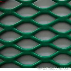 PVC coated expanded metal mesh for fence