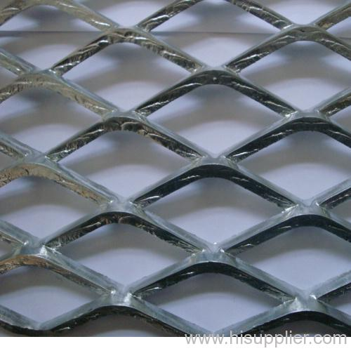 hot-galvanized heavy expanded metal meshes
