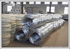 Zinc plated wire