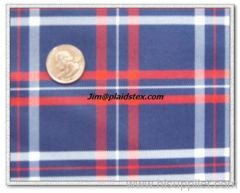 polyester yarn dyed plaid fabric