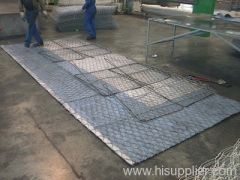 Sun gabion baskets