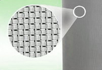 square stainless steel wire mesh