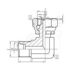 brass tee adapter