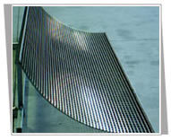 flat sieve or flat panel screen or strainer plate or woven wire mesh