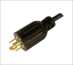 LOCKING Power Plug Ul approved