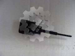 gauge oil lever