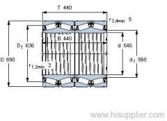 BT4-8038 G/HA1VA901 bearing
