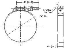 "Standard T-Bolts (1/4"" - 28, plated steel)"