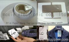 RFID UHF/HF smart Paper Hang tag