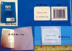 RFID book label