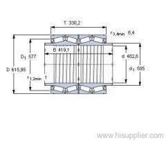 BT4B 334072 BG/HA1VA903 bearing