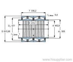 BT4B 334072 BG/HA1VA901 bearing
