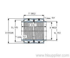 BT4B 331626 BG/HA1 bearing