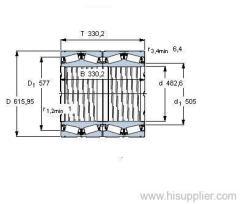 BT4B 328842 E1/C725 bearing