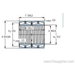 330641 ABG/HE1 bearing
