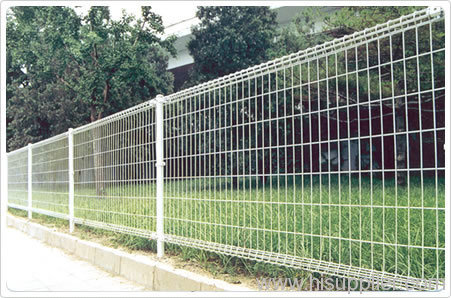 double ring welded wire mesh garden fencings