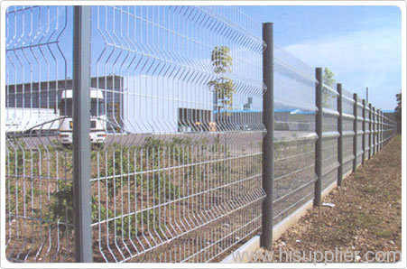 railway wire mesh fencings