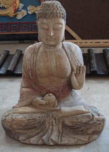 Oriental antique buddha