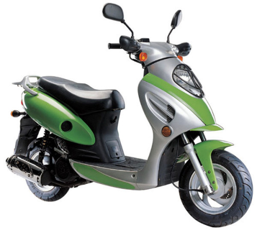 EEC 50cc Gas Powered Scooter
