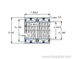BT4-8039 G/HA1VA901 bearing