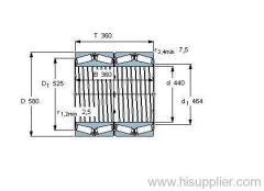BT4-8124 E/C550 bearing