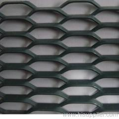 PVC coated hexagonal expanded metals