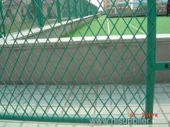 garden expanded metal fencing