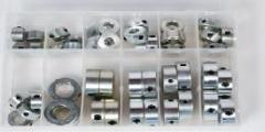 Shaft collar assortment imperial