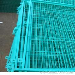 sky blue PVC coated welded wire meshes