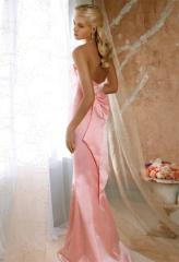 Satin-Evening Dress