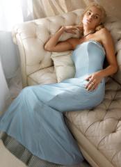 Chiffon Evening Dress design