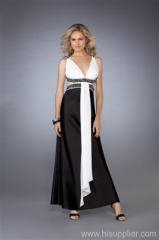 Satin Formal Evening Dress