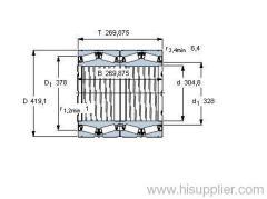 BT4-8057 G/HA1VA901 bearing