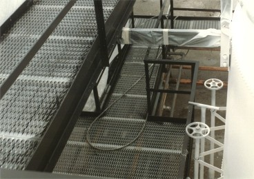 standard walkway meshes
