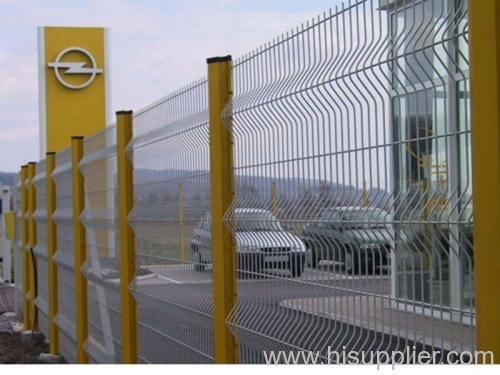 galvanized express way fence