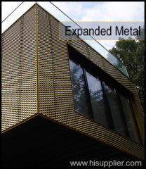 stainless expanded metal fences