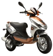 EEC Motor Scooter