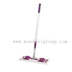 fiber dust mop-mop