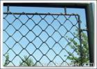 Green PVC coated garden fencings